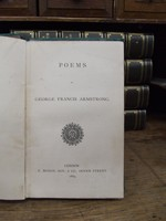 George Francis Armstrong - Poems -  - KHS1004618