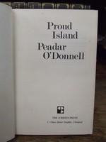 Peadar Ó'Donnell - Proud Island - 9780950204673 - KHS1009985