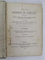 Sir Henry Sheehy - Defence of Ireland:  Including Observations on Some Other Subjects Connected Therewith -  - KHS1017604