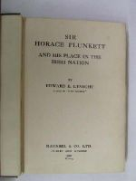 Edward E Lysaght - Sir Horace Plunkett and His Place in the Irish Nation -  - KHS1017605