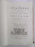 - [Irish Statutes, 1310-1800],  20 Volumes Complete -  - KHS1017656