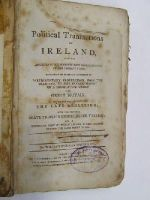 William Wenman Seward - Collectanea Politica: Or, The Political Transactions of Ireland from the Accession of George the III to the Present Time -  - KHS1017701