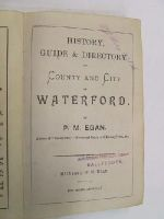 P M Egan - History , Guide and Directory of County and City of Waterford, 1894 -  - KHS1017710