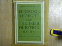 R D Collinson Black - Economic Thought and the Irish Question, 1817-1870 -  - KHS1020542