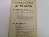 [Cumann na Saoirse] - Points For Canvassers -  - KHS1033167