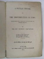 Rev. Patrick F. Kavanagh. - A Popular History of the Insurrection of 1798: Derived from every Available Written Record and Reliable Tradition. -  - KLN0000079