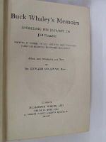 Buck Whaley, Edited by Edward Sullivan - Buck Whaley's Memoirs including His Journey to Jerusalem Written by Himself in 1705 and now First Published From the Recently Recovered Manuscript - edited with introduction and no -  - KLN0000095