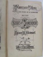 Agnes M Stewart - Florence O'Neill, the Rose of St. Germains, or, The seige of Limerick -  - KLN0000105