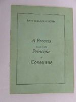New Ireland Group - A Process Based on the Principle of Consensus -  - KLN0007401