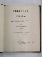 Thomas Campbell - Gertrude of Wyoming; A Pennsylvanian Tale. and Other Poems -  - KNW0012971