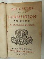 Madame Dacier - Des Causes de la Corruption du Gout -  - KNW0013854
