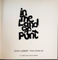 Lambert, Gene - In the land of punt - 9780951328101 - KOC0003356