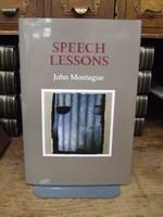 Montague, John - Speech Lessons - 9781852355173 - KOC0003410