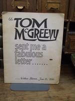 - Tom McGreevy Sent me a Fabulous Letter -  - KOC0003513