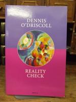 O'Driscoll, Dennis - Reality Check - 9780856464027 - KOC0003608