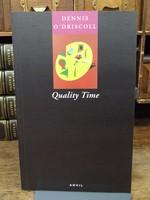 O'Driscoll, Dennis - Quality Time - 9780856462900 - KOC0003631