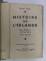 M. Élias Regnault - Histoire De L'Irlande depuis son Origine Jusqu'en 1845, suivie de Notices Biographiques sur ses Grandes Hommes -  - KON0822426