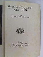 George De Stacpoole - Irish and Other Memories -  - KON0822467