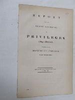 Select Committee - [Report on Privileges (Sligo Election), 1848] -  - KON0822955