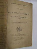 Historical Manuscripts Commission - Report on Franciscan Manuscripts preserved at The Convent, Merchants Quay, Dublin -  - KON0824188