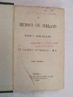 Daniel O'Connell - A Memoir on Ireland Native and Saxon -  - KON0824260