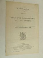 British Parliamentary Papers - Correspondence relating to the Proposals of His Majesty's Government for an Irish Settlement. Cmd. 1502 -  - KON0826811