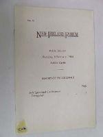 Report of Proceedings - New Ireland Forum Public Session Thursday, 9 February 1984 -  - KRF0019174