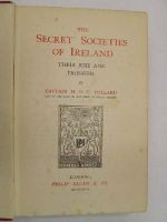 Hugh Berlie Campbell Pollard - Secret Societies of Ireland: Their Rise Progress -  - KRF0034901
