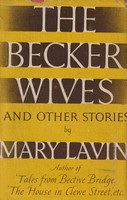 Lavin, Mary - The Becker Wives and other stories -  - KSG0021035