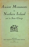 Northern Ireland Ancient Monuments Branch - Ancient Monuments in Northern Ireland Not In State Charge -  - KSG0022859