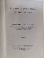 George McCall, Theal - Progress of South Africa in the century -  - KST0006190