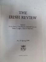 Kevin Barry, et al - The Irish Review No. 8 Spring 1990 -  - KST0006362