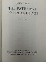 John Tapp - The Path-Way To Knowledge -  - KTJ0003190