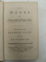 Alexander Pope - The Works of Alexander Pope, Esq. -  - KTJ0004781