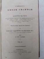 Augustus Matthiae - A Copious Greek Grammar -  - KTJ0004784