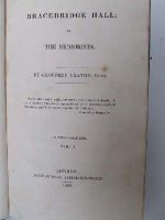 Geoffrey Crayon [Washington Irving] - Bracebridge Hall; Or, The Humorists -  - KTJ0004786