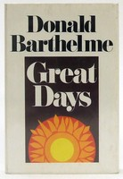 Barthelme, Donald - Great Days - 9780710002402 - KTJ0050139