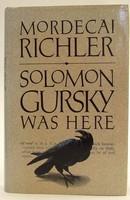 Richler, Mordecai - Solomon Gursky Was Here - 9780701129408 - KTJ0050278