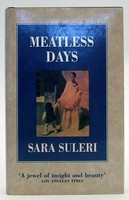 Suleri, Sara - Meatless Days - 9780002154086 - KTJ0050297