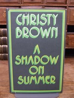 Christy Brown - A Shadow on Summer - 9784360709445 - KTK0094238