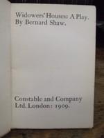 George Bernard Shaw - Widower's Houses -  - KTK0094255