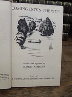 Written and engraved by Robert Gibbings - Coming Down the Wye -  - KTK0094561