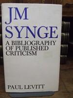 - JM Synge: A Bibliography of Published Criticism - 9780716521556 - KTK0094658