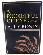 A.J. Cronin - A Pocketful of Rye -  - KTK0099488